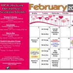 HOP Healthy Living Education Series Presentation Schedule February 2020