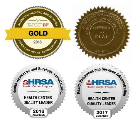 HRSA Award Seals